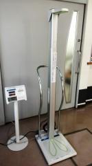 自動身長体重計